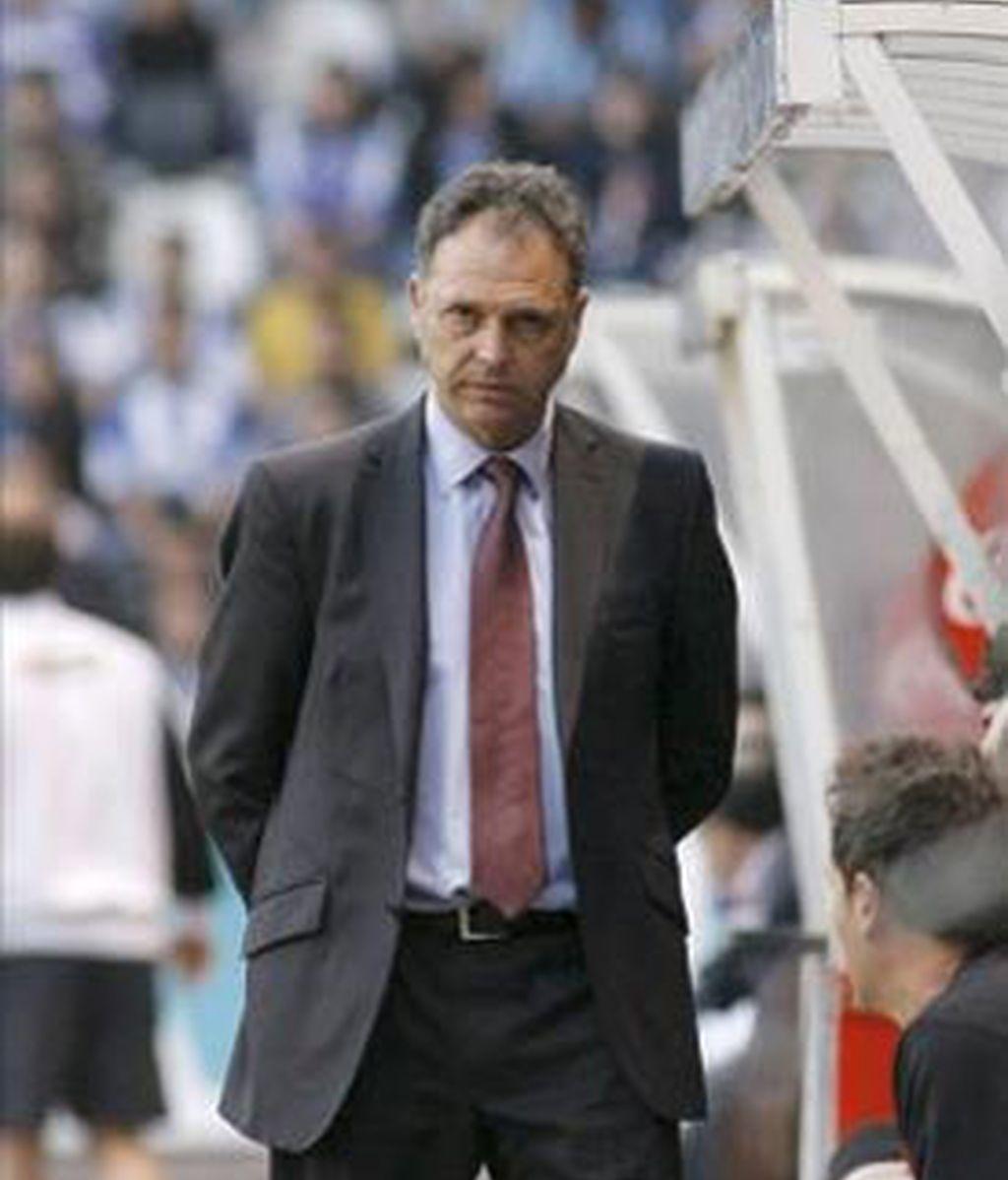 Caparrós, cuando estaba al frente del Athletic. Foto: Archivo / EFE