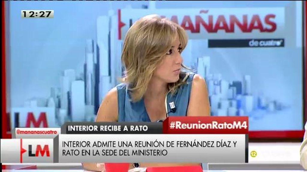"""Sánchez, de la reunión de Rato y Fernández Díaz: """"Es la enésima confusión del PP entre las estructuras del Estado y las del partido"""""""