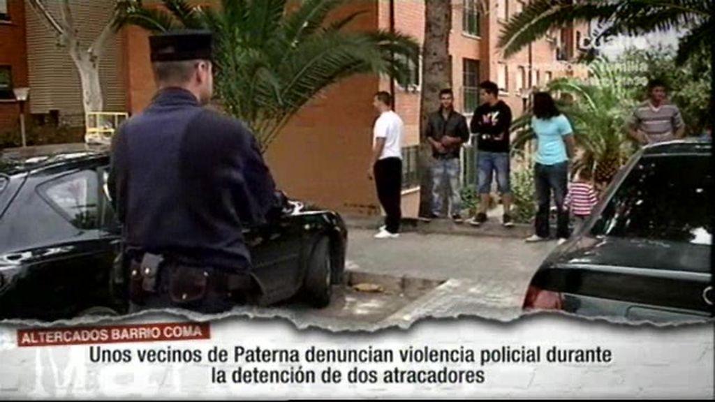 Pelea entre vecinos y la Policia