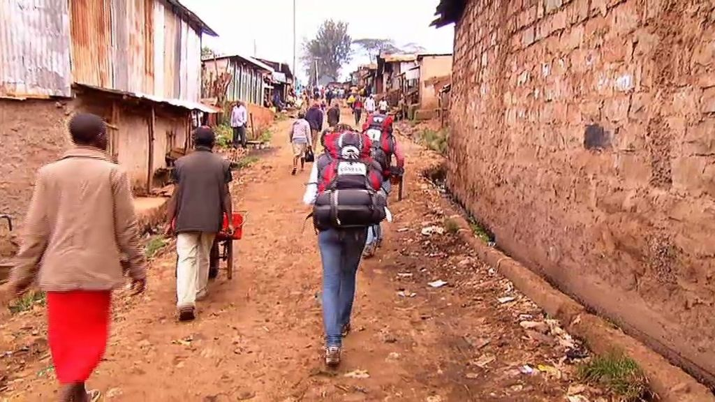 Kibera, la mayor barriada pobre de África