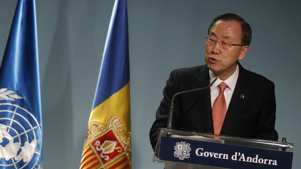 Ban Ki-moon pide diálogo para solucionar la crisis coreana