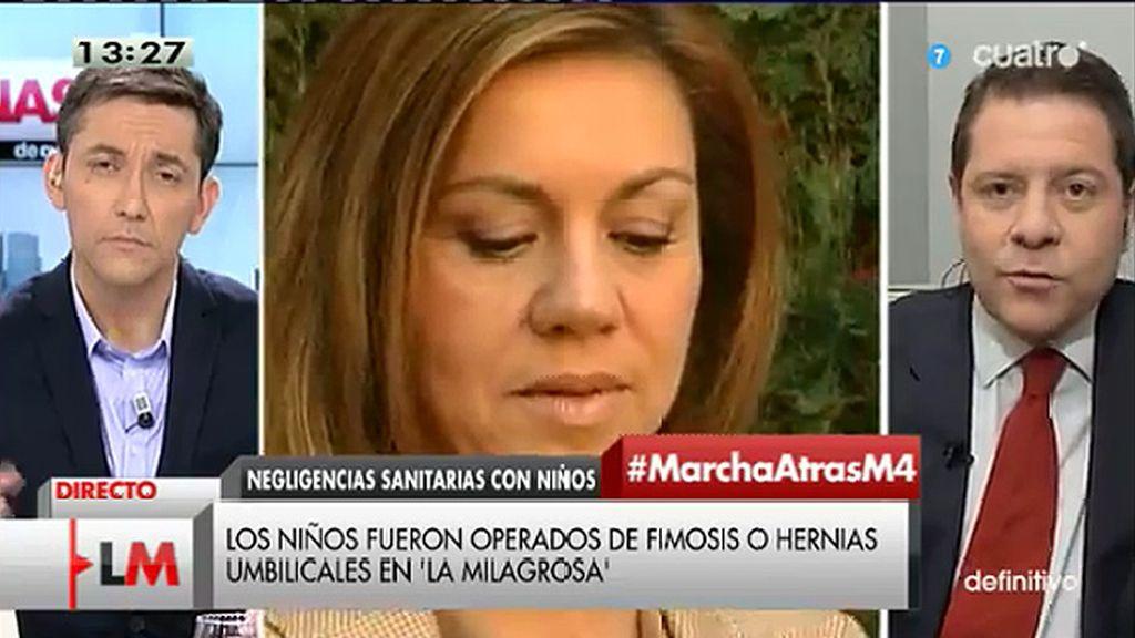 """García - Page: """"Convertir a las víctimas de la crisis en culpables es una obscenidad moral"""""""