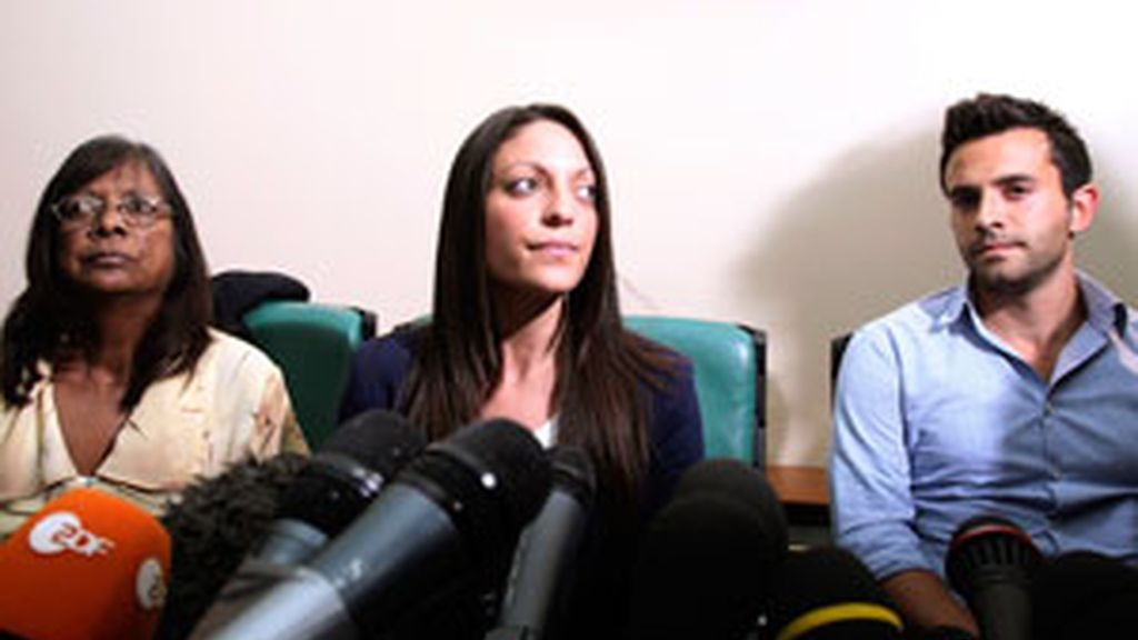 La madre y los hermanos de Meredith quieren saber quién la mató. Foto: Reuters