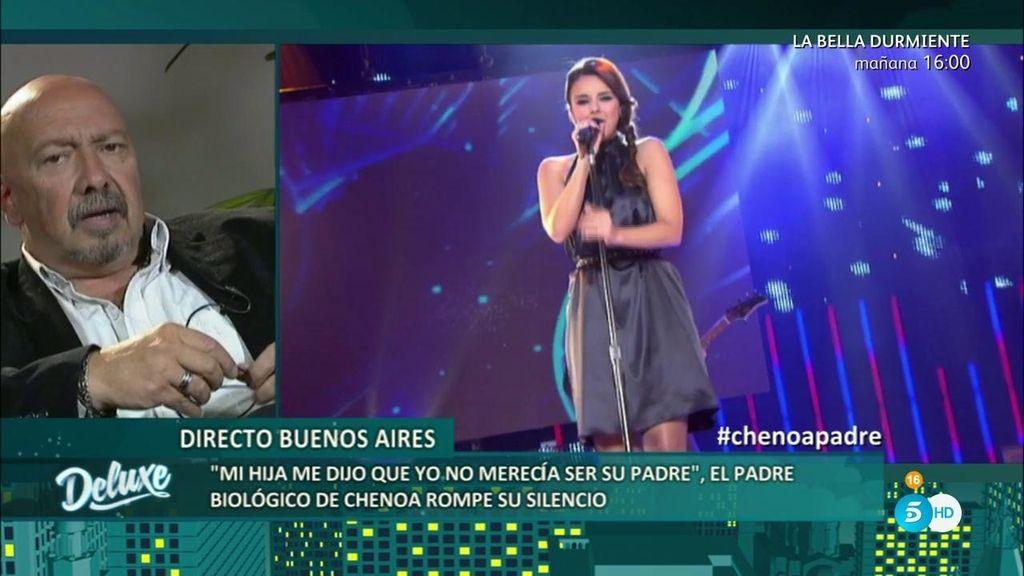 """Juan Carlos: """"No quiero dinero de mi hija Chenoa, sólo quiero que me dé trabajo"""""""