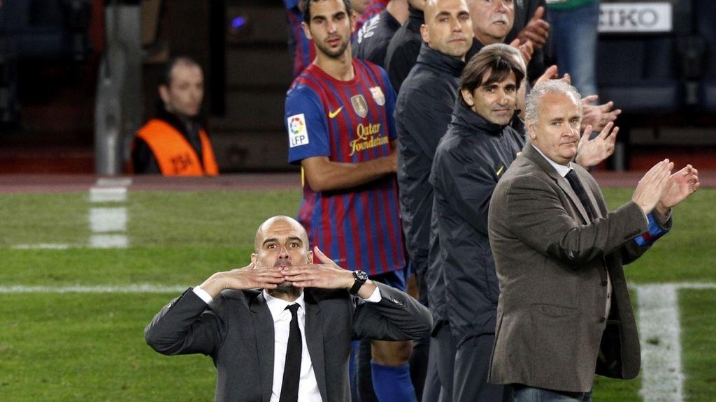 Emotiva despedia de Pep Guardiola