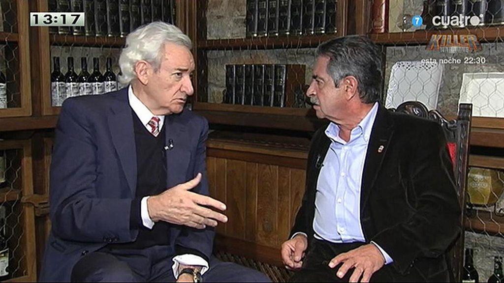 """Luis del Olmo, de Podemos: """"No pongo la mano en el fuego, pero espero con impaciencia y les escucho con atención"""""""