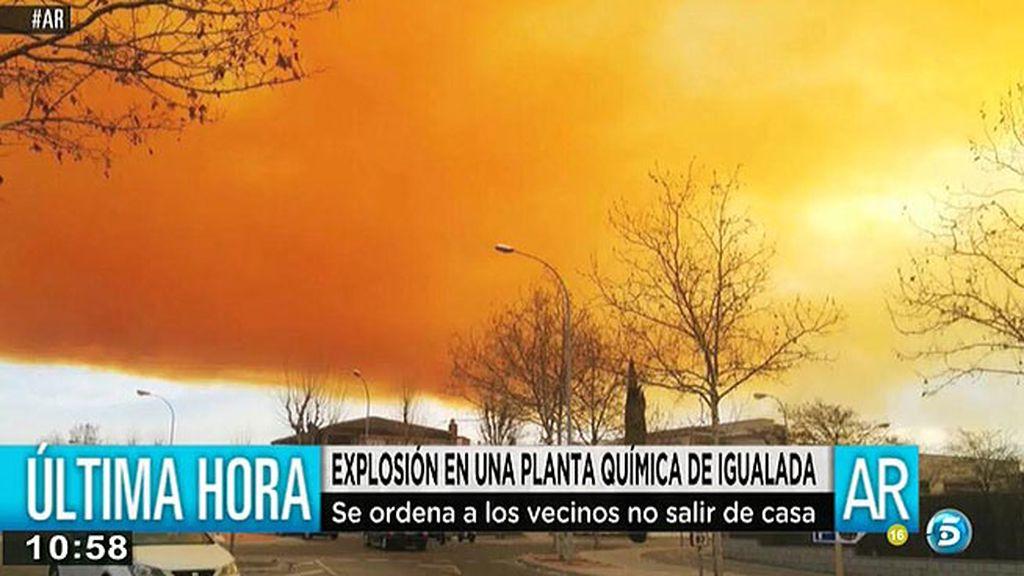 Explosión en una planta química en Igualada
