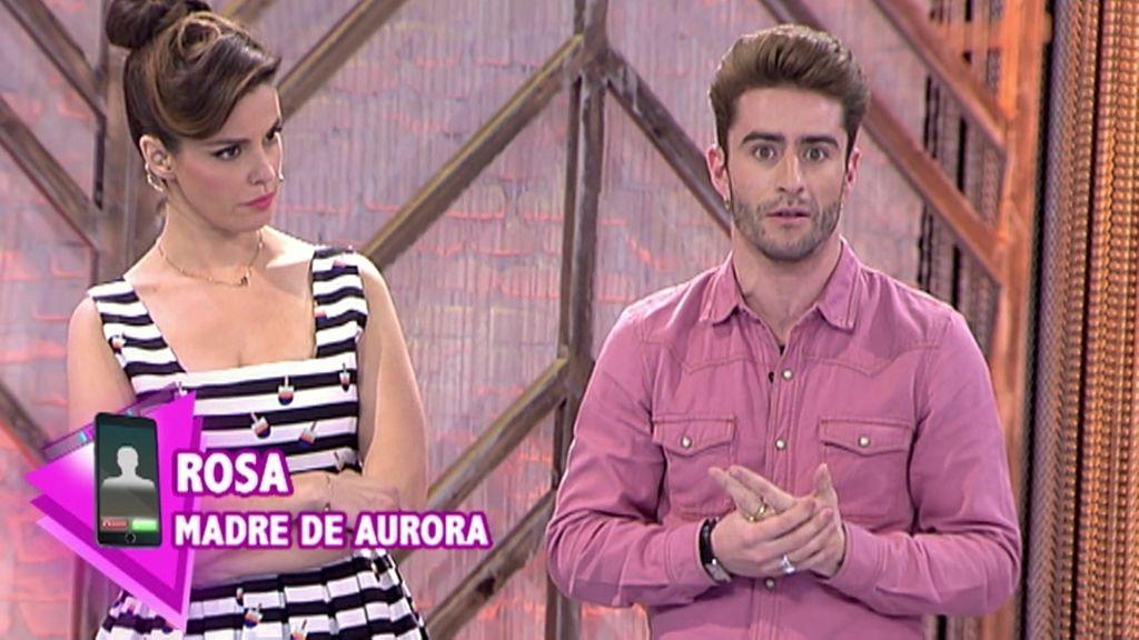"""Rosa, madre de Aurora: """"Apoyo a mi hija y sé que tiene muchas cualidades"""""""