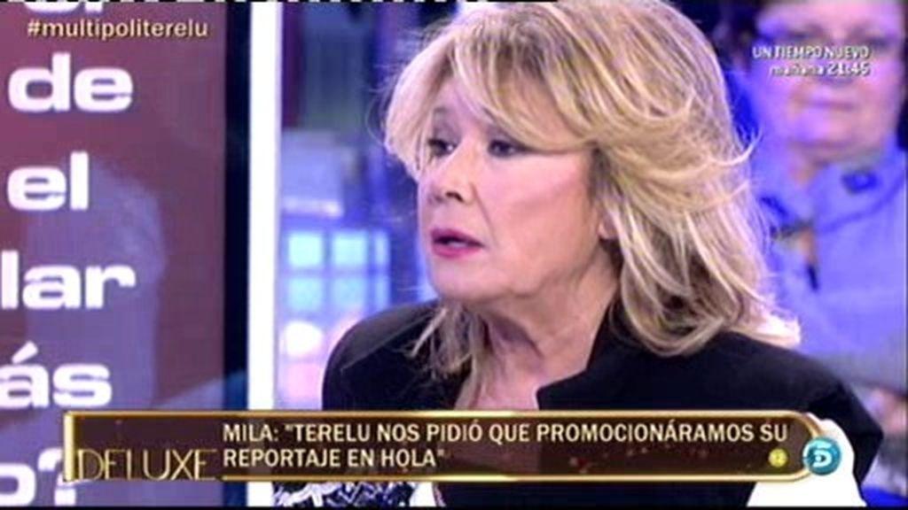 "Mila Ximénez, a Terelu: ""Tú nos pediste que promocionasemos tu portada"""