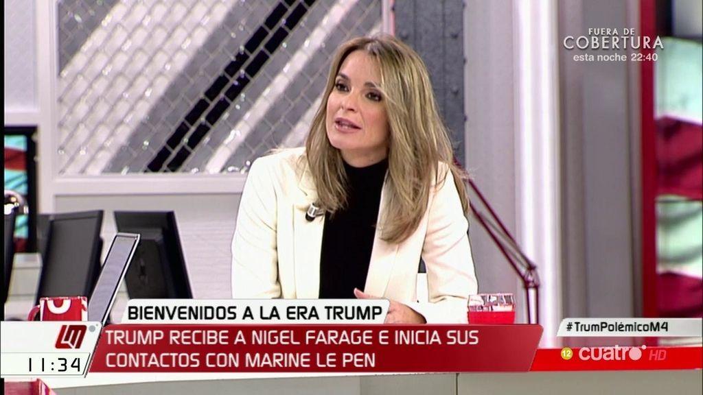 """Marga Prohens (PP): """"El discurso demagogo de Trump lo podría firmar Pablo Iglesias"""""""