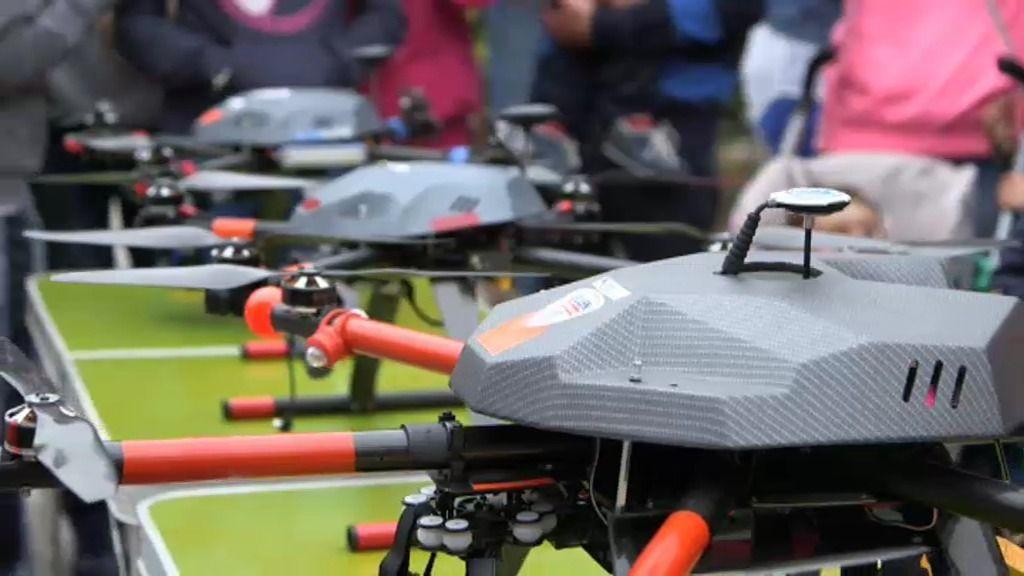 Los drones de 'Volando voy' toman Somiedo para facilitar la vida de sus pueblos