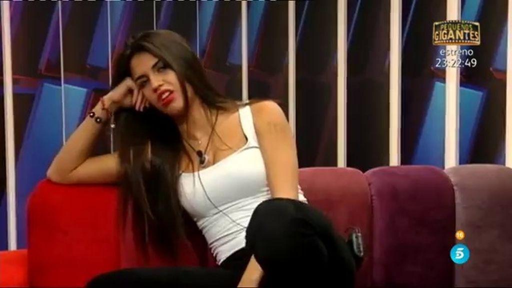 """Sofía: """"Ya se están dando abrazos, no quiero ver cosas de amor entre Suso y Raquel"""""""