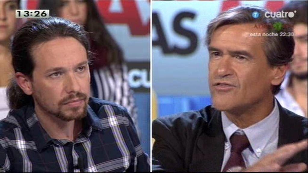 """López Aguilar: """"No puedo aceptar que cualquiera que esté en política sea casta"""""""