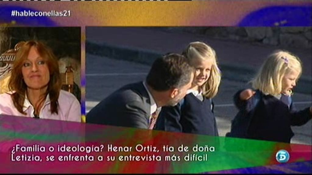 """Henar Ortiz: """"Me gustaría poder ver más a mis dos sobrinas"""""""