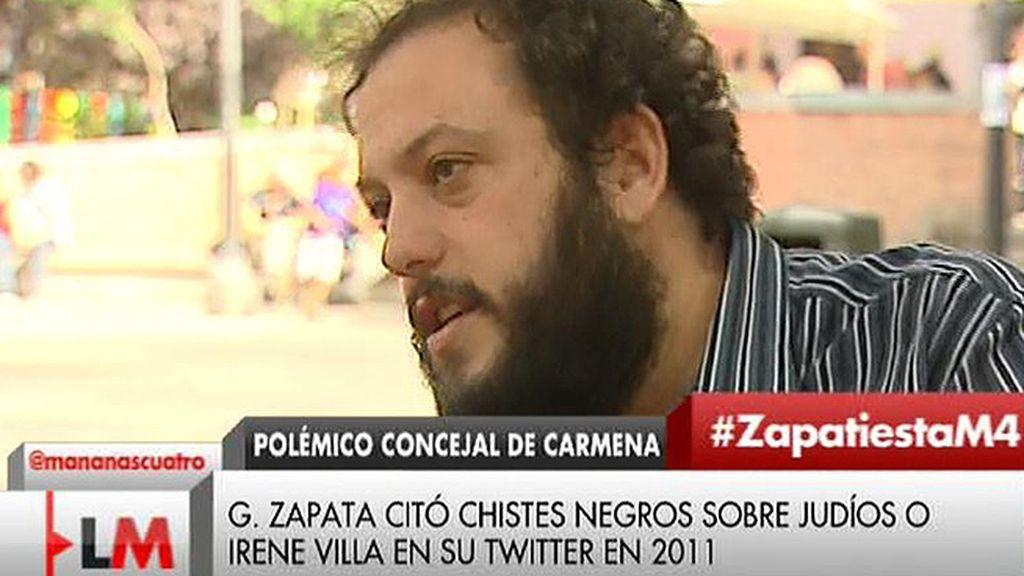 """G. Zapata: """"Asumiré cualquier modelo de responsabilidad que creamos colectivamente que es razonable"""""""