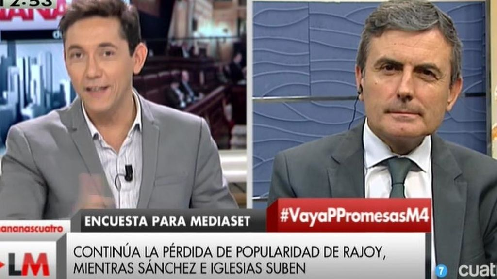 """Pedro Saura, en 'Las Mañanas': """"El Gobierno va como un pollo sin cabeza"""""""