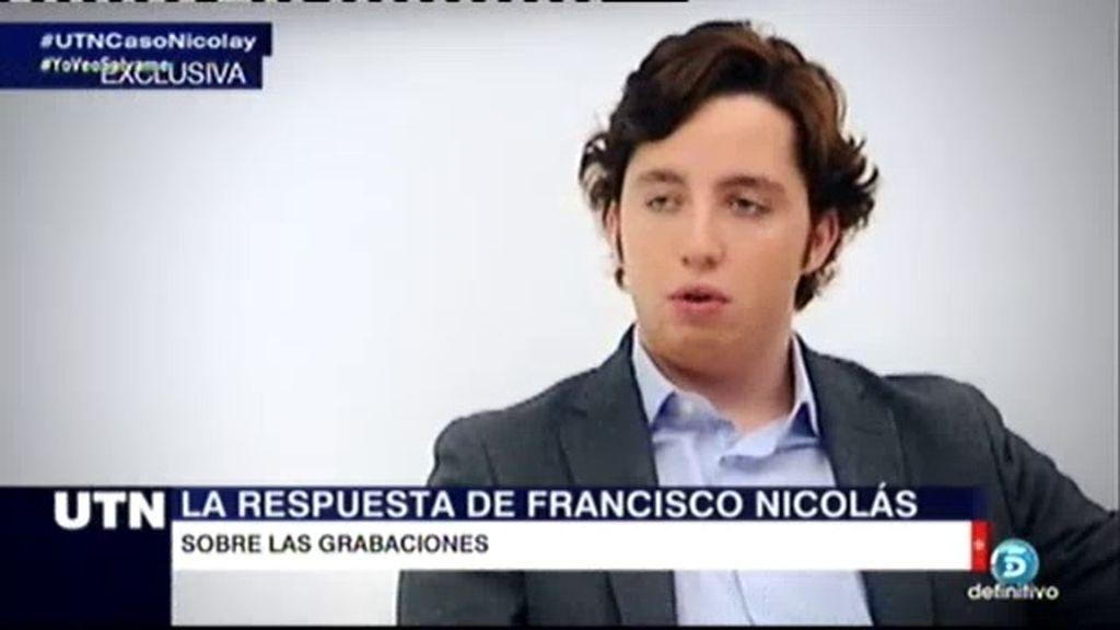 """Nicolás: """"Creía que el instructor de mi caso me estaba ayudando y me ha traicionado"""""""