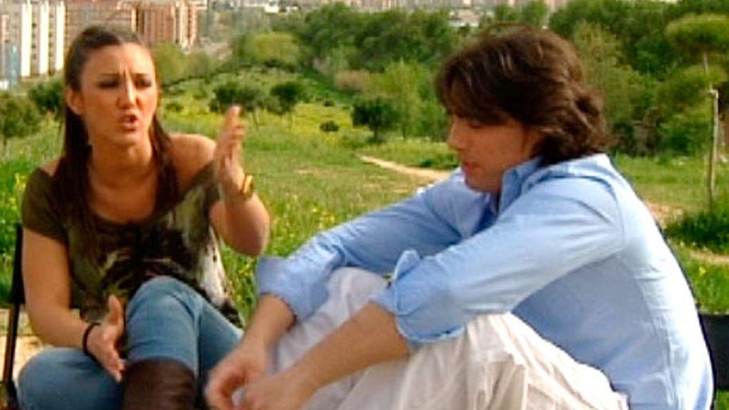 Reche y Laura (28/04/11)