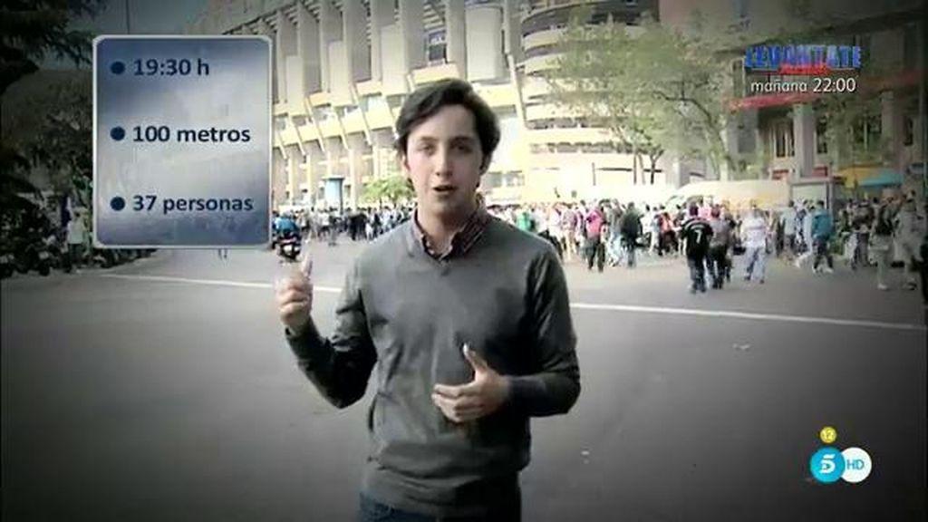 Una cámara oculta acompaña a Fran Nicolás al Bernabéu para comprobar su fama