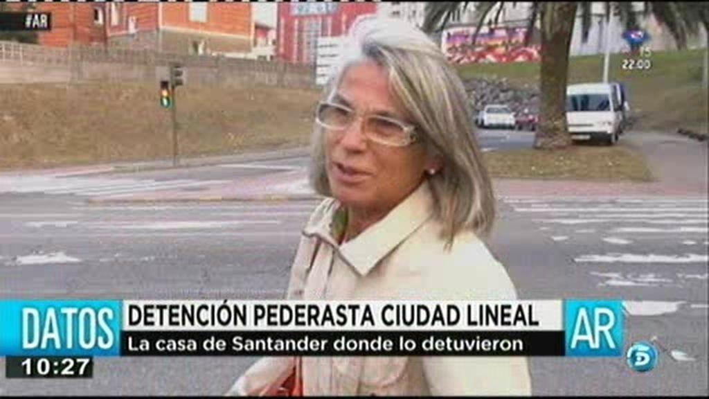 """Vecina del presunto pederasta en Santander: """"Era un poco chuleta"""""""