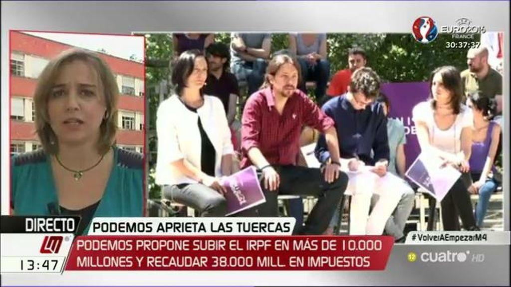 """T. Sánchez responde a Cospedal: """"Lo que es funesto son las previsiones que hacen ellos"""""""