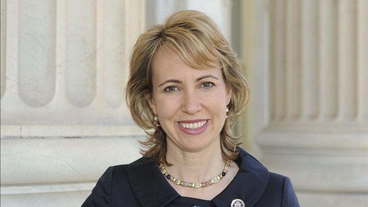 Imagen de archivo sin fechar de la legisladora demócrata Gabrielle Giffords, cedida por la Cámara de Representantes el 8 de enero de 2011. EFE/Archivo