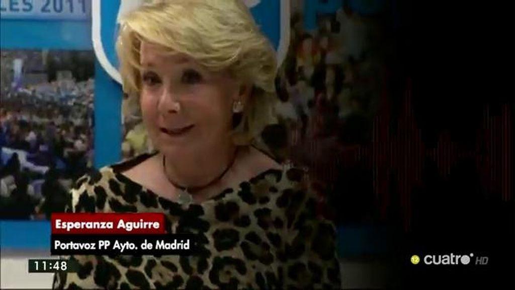 """Aguirre desvela que compró acciones de Bankia: """"Me parece muy bien que me lo devuelvan"""""""