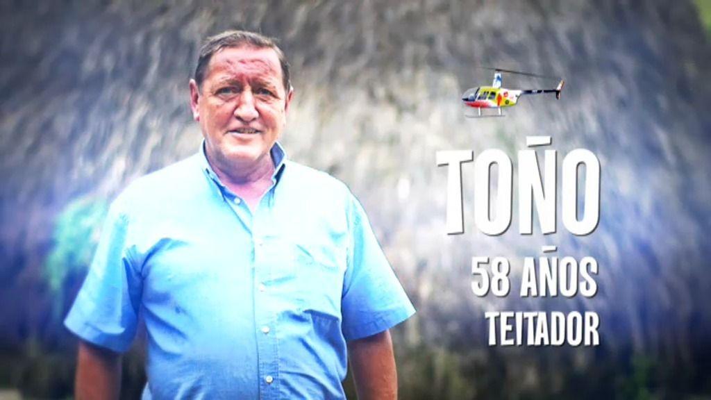 Toño, el teitador asturiano que alucina con los drones que le encuentran su vaca perdida