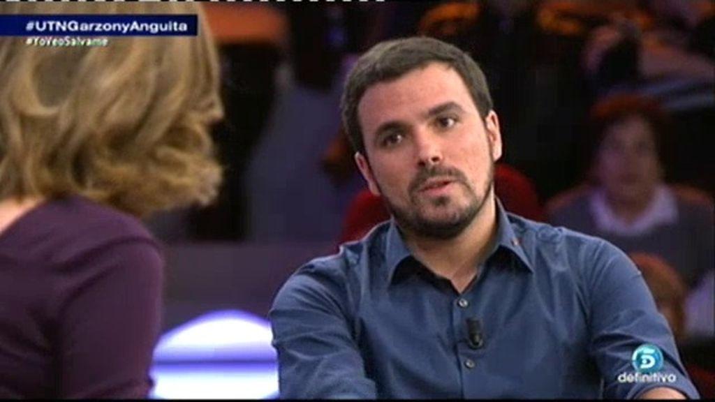 "Alberto Garzón: ""Ha habido muchas derrotas por falta de movilización social"""