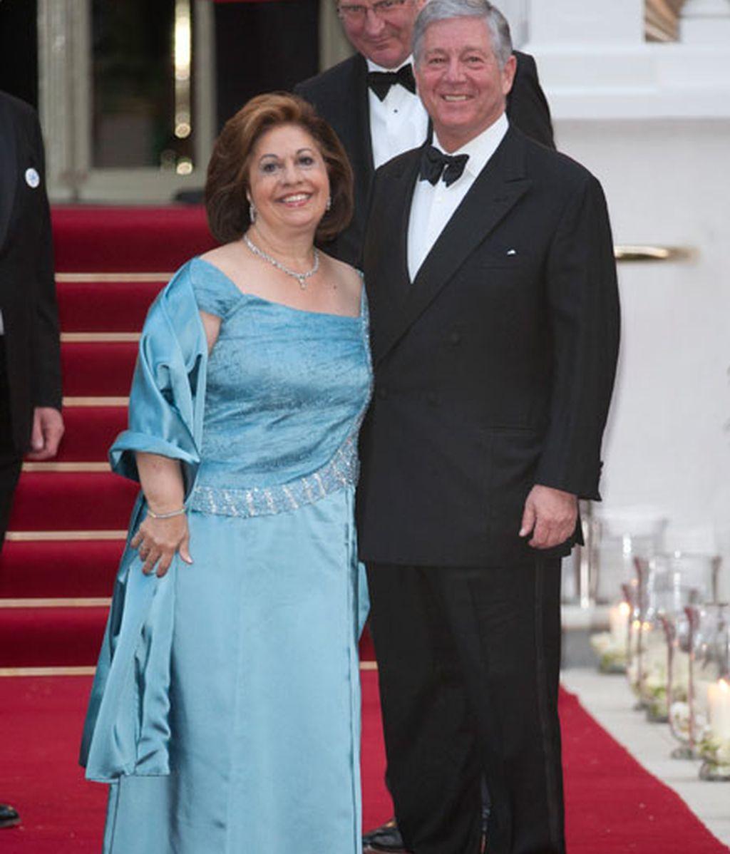 PRÍNCIPE ALEXANDA Y PRINCESA KATERINA DE YUGOSLAVIA
