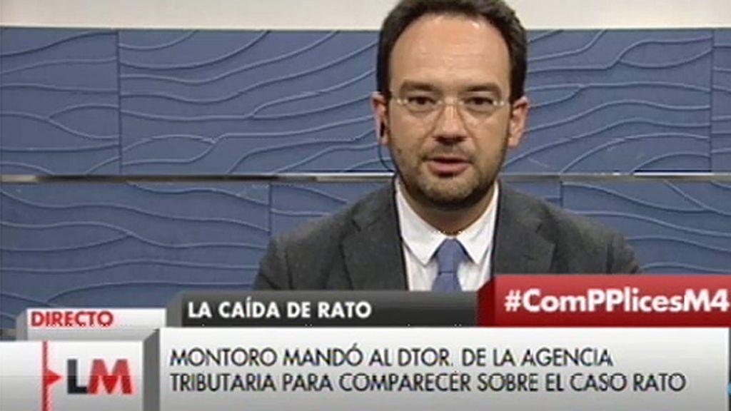 """Antonio Hernando: """"Es evidente que sí hay amnistía"""""""