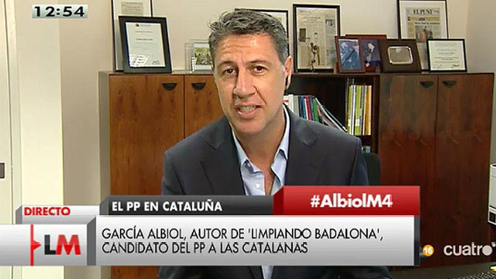 """García Albiol: """"No se ha perseguido a nadie en función de nacionalidad, sino a quienes no se comportan, sean españoles o inmigrantes"""""""