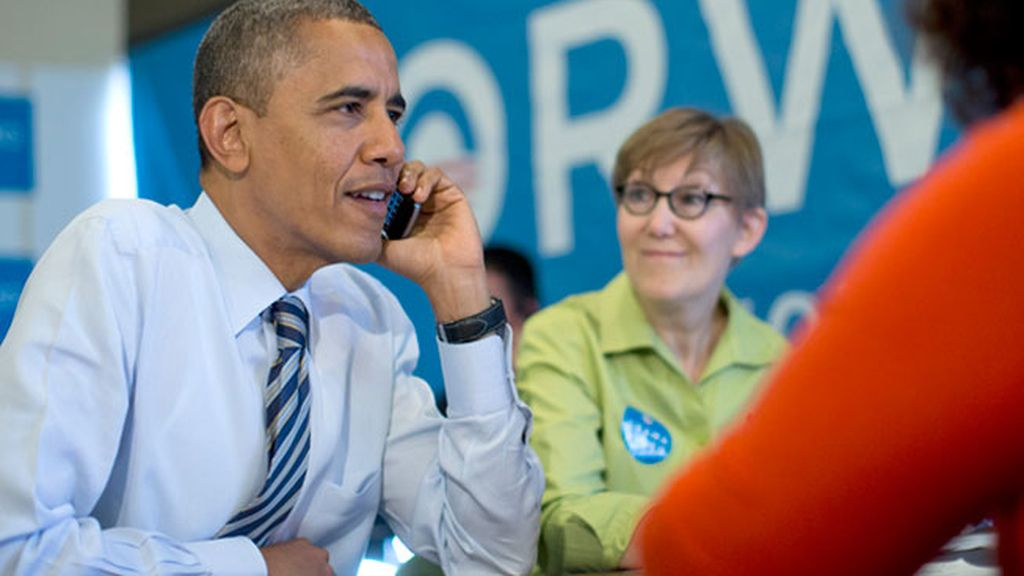 Obama, al teléfono