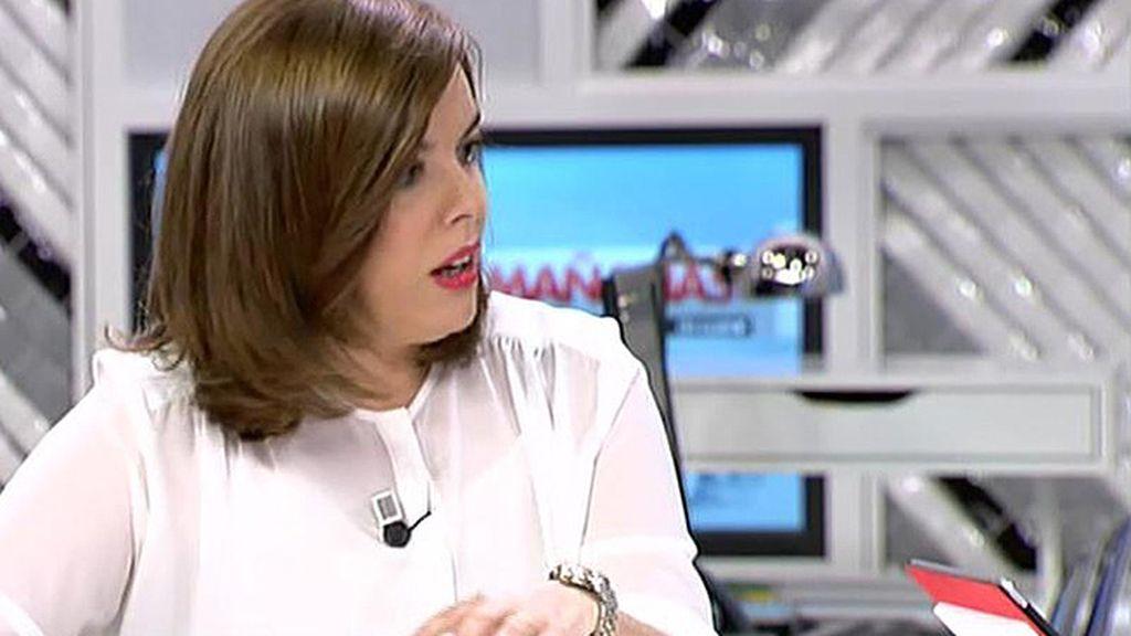 """Sáenz de Santamaría: """"España evitó el rescate que Grecia no pudo evitar tres veces"""""""