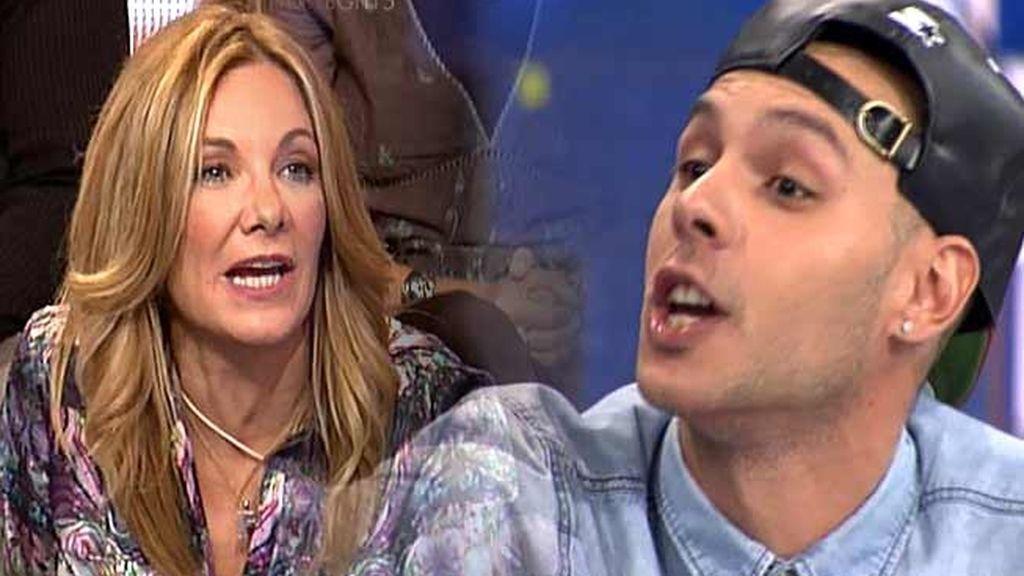 """Belén Rodríguez, a gritos contra el 'Clan Carabanchel': """"Sois unos maleducados"""""""