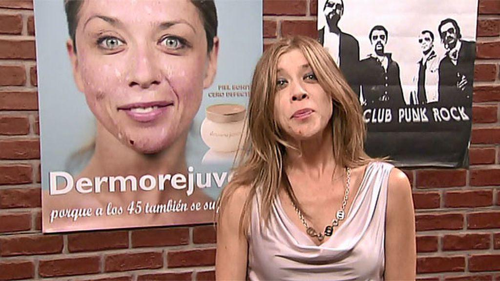 Maite consigue 3.000 euros en un anuncio de crema para viejas
