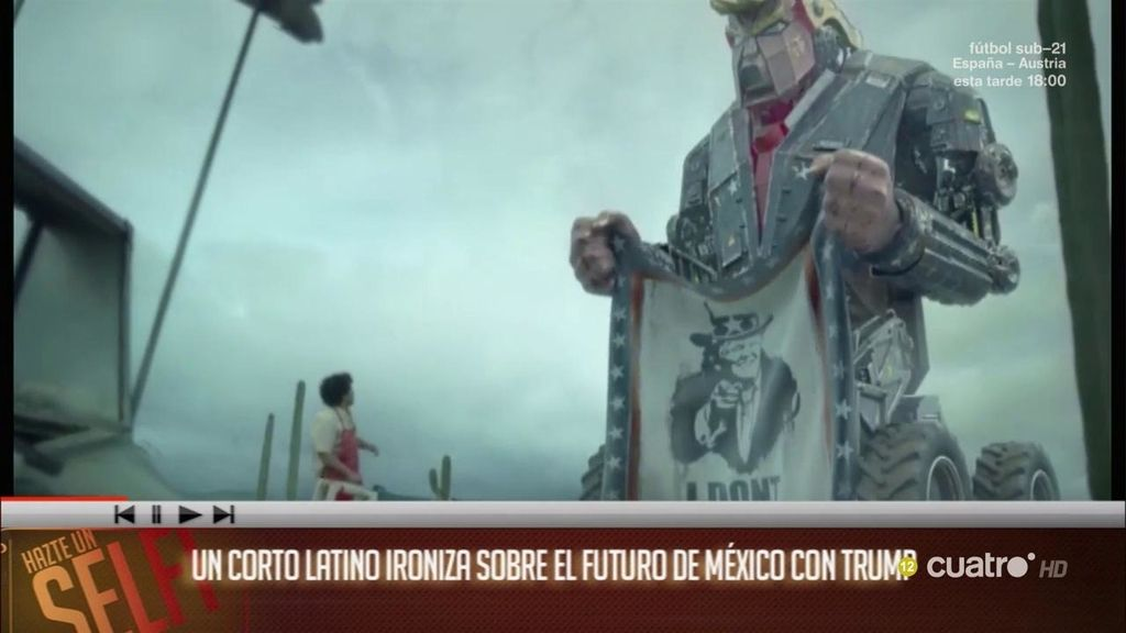 Un cortometraje latino ironiza sobre el futuro de México con Trump