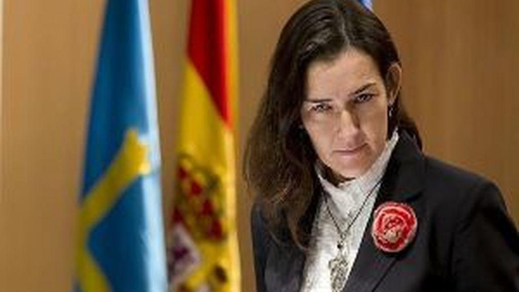 La ministra, en entredicho. Foto: EFE.