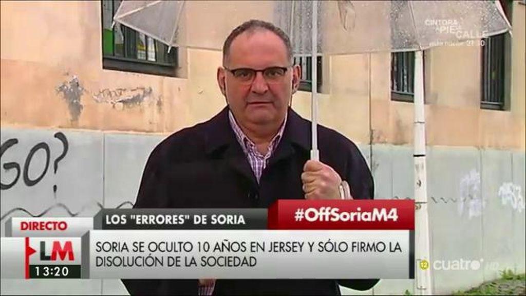 """A. Losada: """"El ministro Soria no ha asumido ninguna responsabilidad, le han cazado"""""""