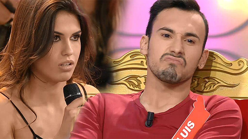 """Luis planta cara a Sofía: """"Eras una niña de cuatro años en el trono"""""""