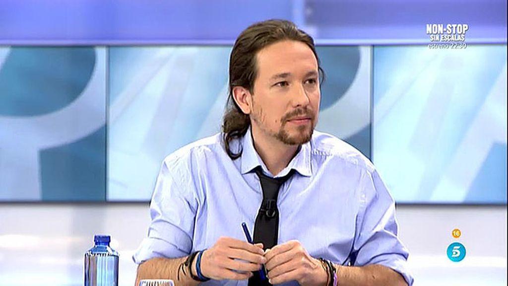 """Iglesias: """"Es bueno que Otegi asegure que se a puesta por vías pacíficas"""""""