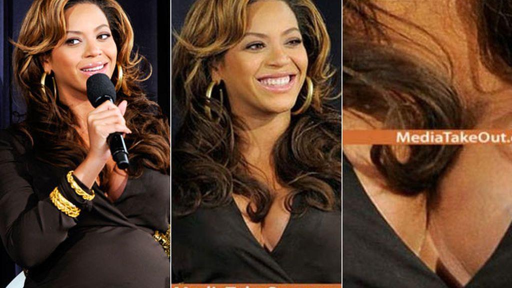 Beyoncé ¿utiliza pechos de silicona?