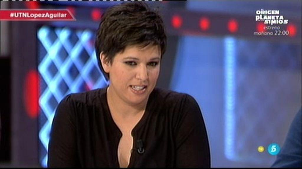 """Beatriz Talegón: """"Lo fundamental para López Aguilar son sus hijos y le está doliendo"""""""