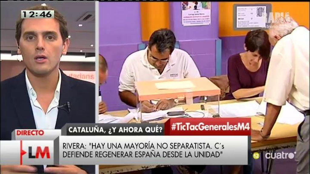 """Albert Rivera: """"No querría elecciones nunca, solo cada cuatro años"""""""