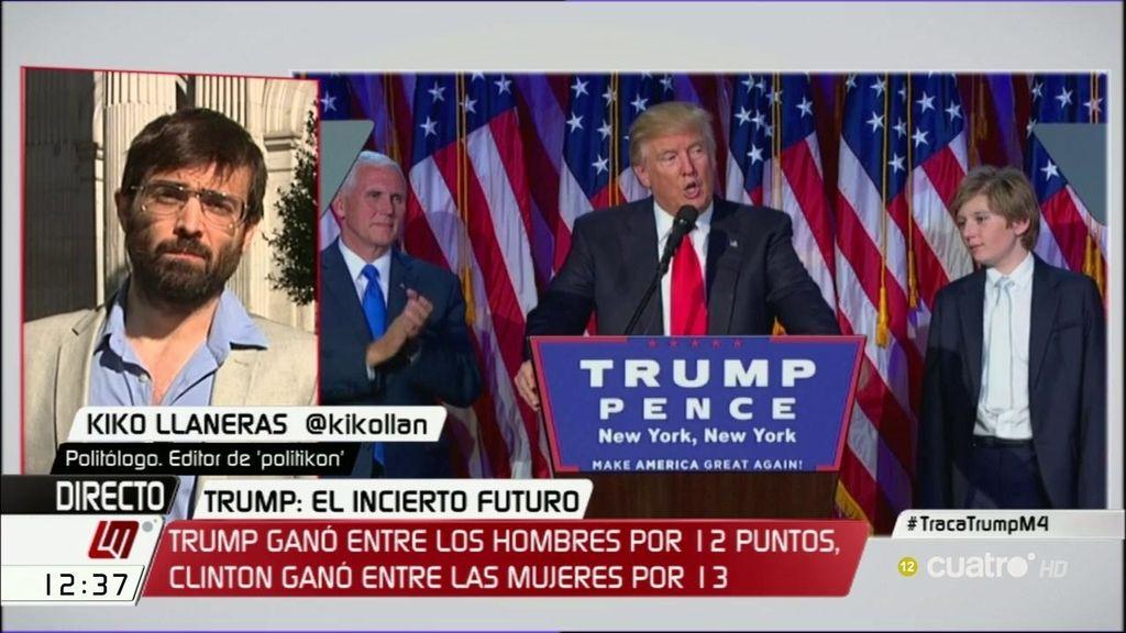 Kiko Llanera explica las dos claves por las que Trump ha logrado ser Presidente