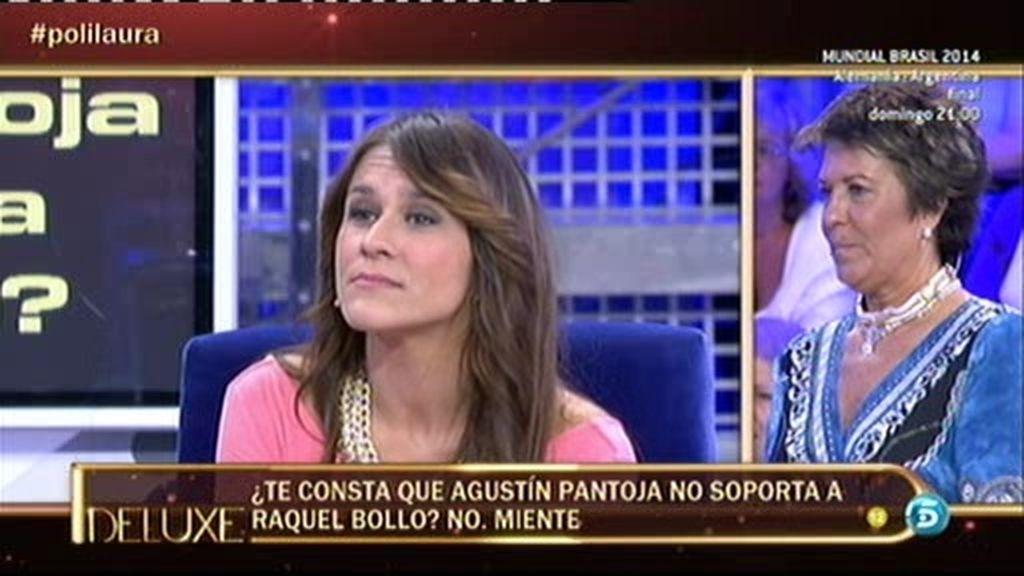 Según el polideluxe, Agustín Pantoja no soporta a Raquel Bollo