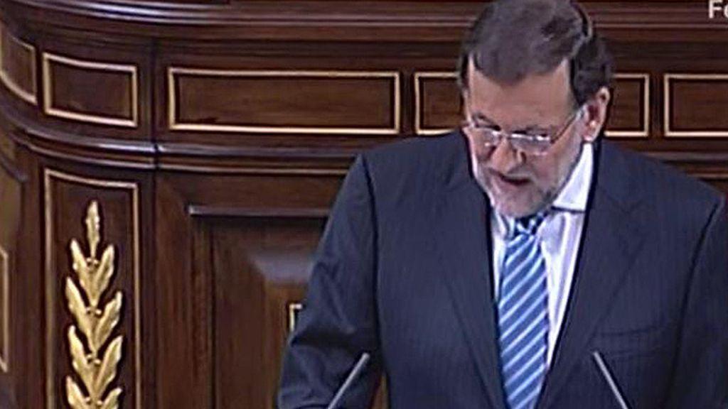 """Rajoy: """"El juez no considera que la señora Mato haya participado en los delitos, establece que lo ha ignorado"""""""