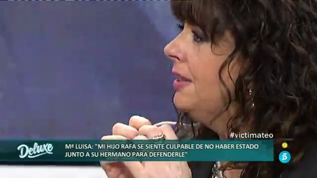"""Maria Luisa, de la agresión a Christopher: """"Si está Rafa, ninguno salía vivo"""""""