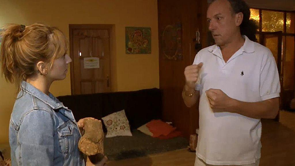 Meritxell Martorell visita un lugar de retiro para tomar Ayahuasca en Madrid