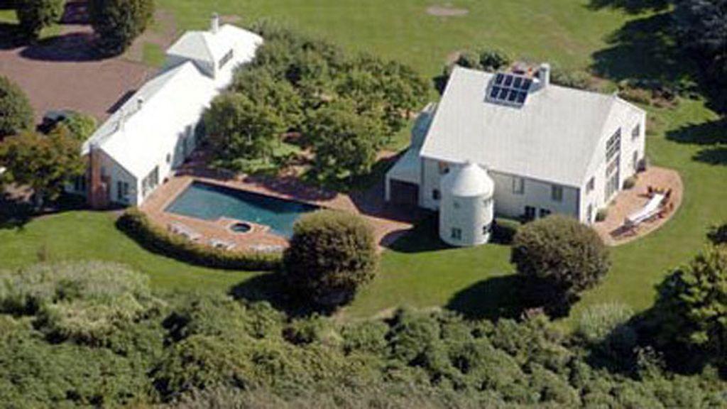 La mansión de Steven Spielberg tiene una casa principal y otra de huéspedes